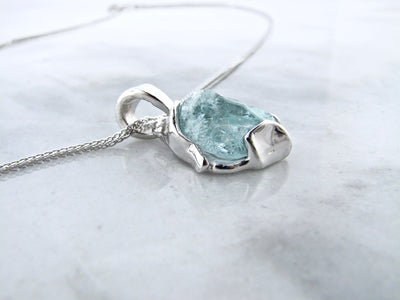 silver-raw-aqua-necklace-wexford-jewelers