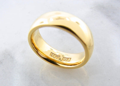 22K-yellow-gold-ring-wedding-band-wexford-jewelers