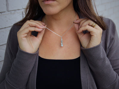 rough-cut-march-birthstone-diamond-silver-necklace