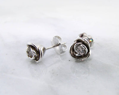 rosebud-ear-posts-small-rose-floral-diamond-earrings-wexford-jewelers