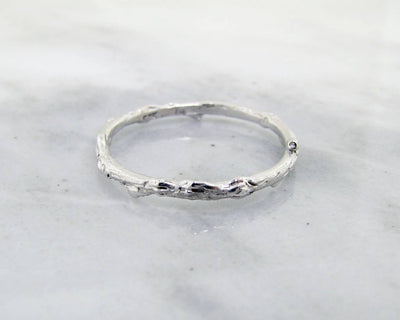 Silver Ring, Twig Band