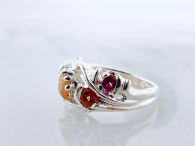 fire-opal-silver-pink-topaz-silver-ring-wexford-jewelers