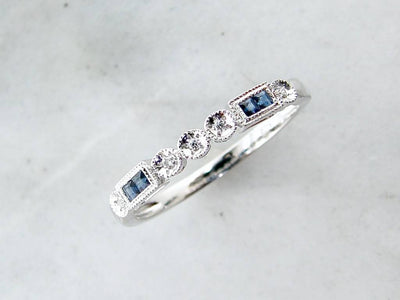 white-gold-diamond-sapphire-stacking-ring-wexford-jewelers