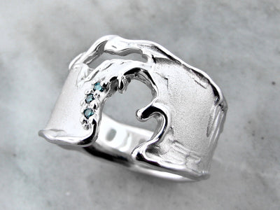 pure-michigan-blue-diamond-silver-ring-wexford-jewelers
