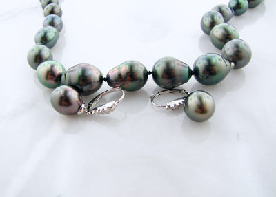 tahitian-pearl-necklace-earrings-wexford-jewelers