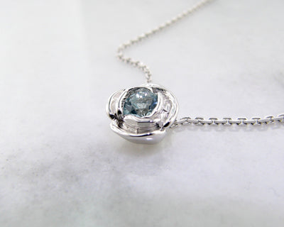 wexford-jewelers-silver-rose-shaped-march-birthstone-necklace