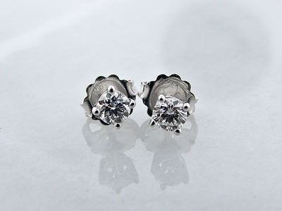 white-gold-pure-grown-diamond-earring-studs-wexford-jewelers