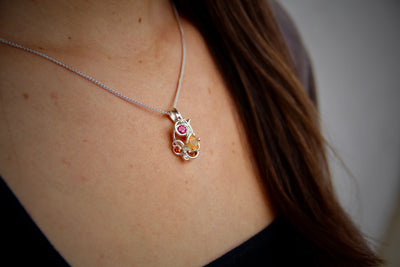 wexford-jewelers-mexican-fire-opal-sunset-topaz-silver-necklace