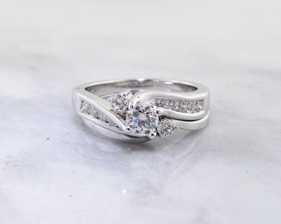 white-gold-fitted-wedding-ring set-wexford-jewelers