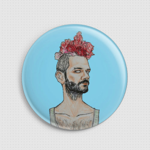 Soly Bowie - Fall - Badge
