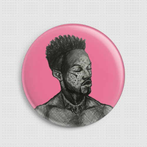 Soly Bowie - Positive - Badge