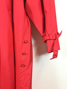 JESSIE Trench coat rouge vintage