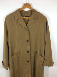 TRACEY Faux sued Trench coat