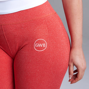 Sula Leggings in Red