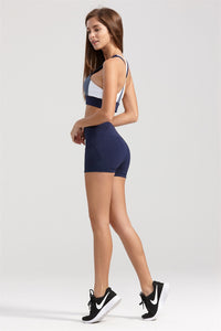 Clio Shorts in Navy