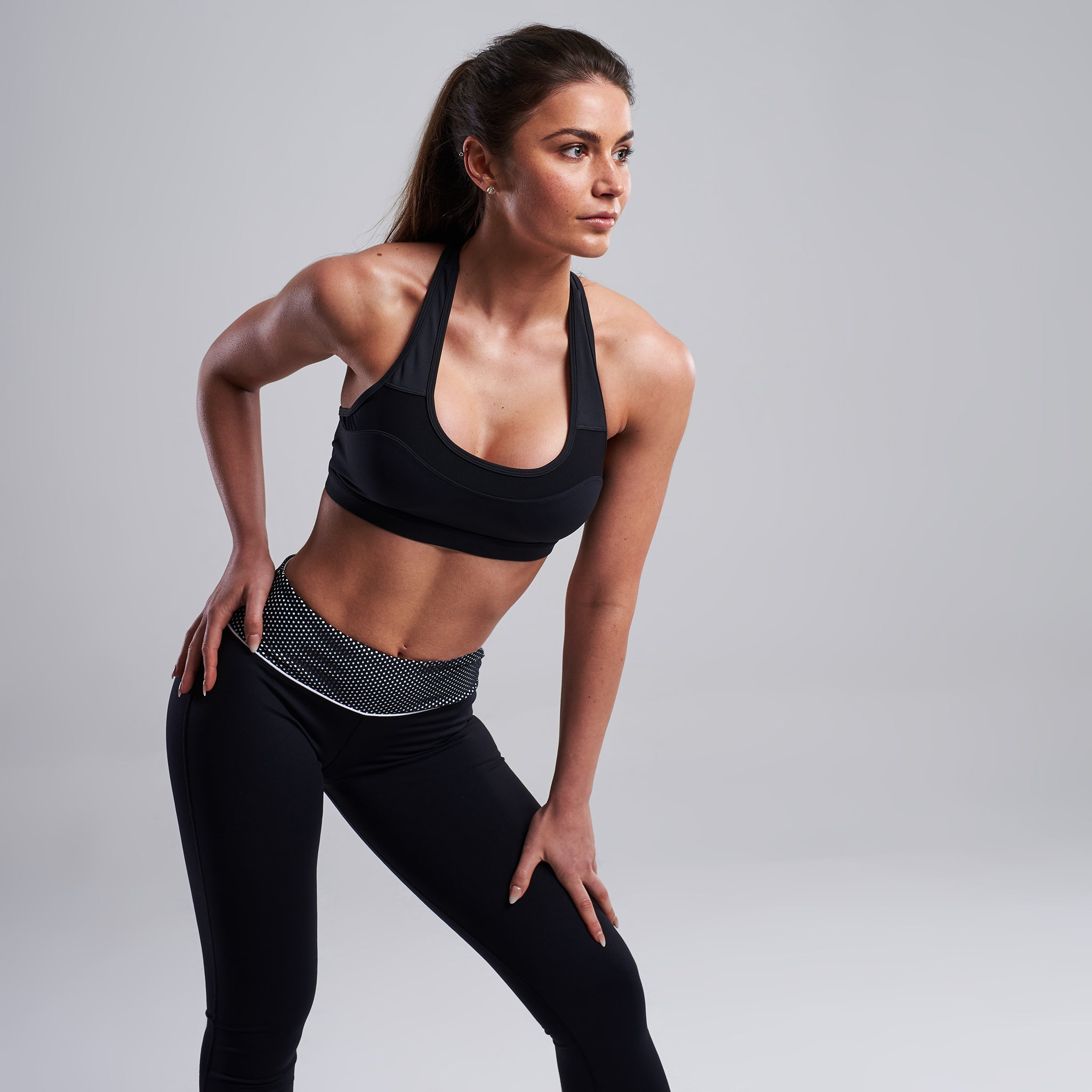 Lasya Sports Bra in Black