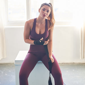 Levana leggings in Berry