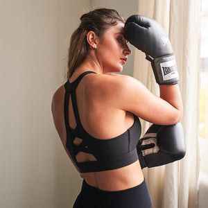 Iris Gym Bra Top in Black
