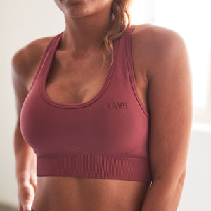 Levana Gym Bra in Pink