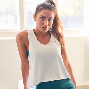 Rhya Drape Back Gym Top