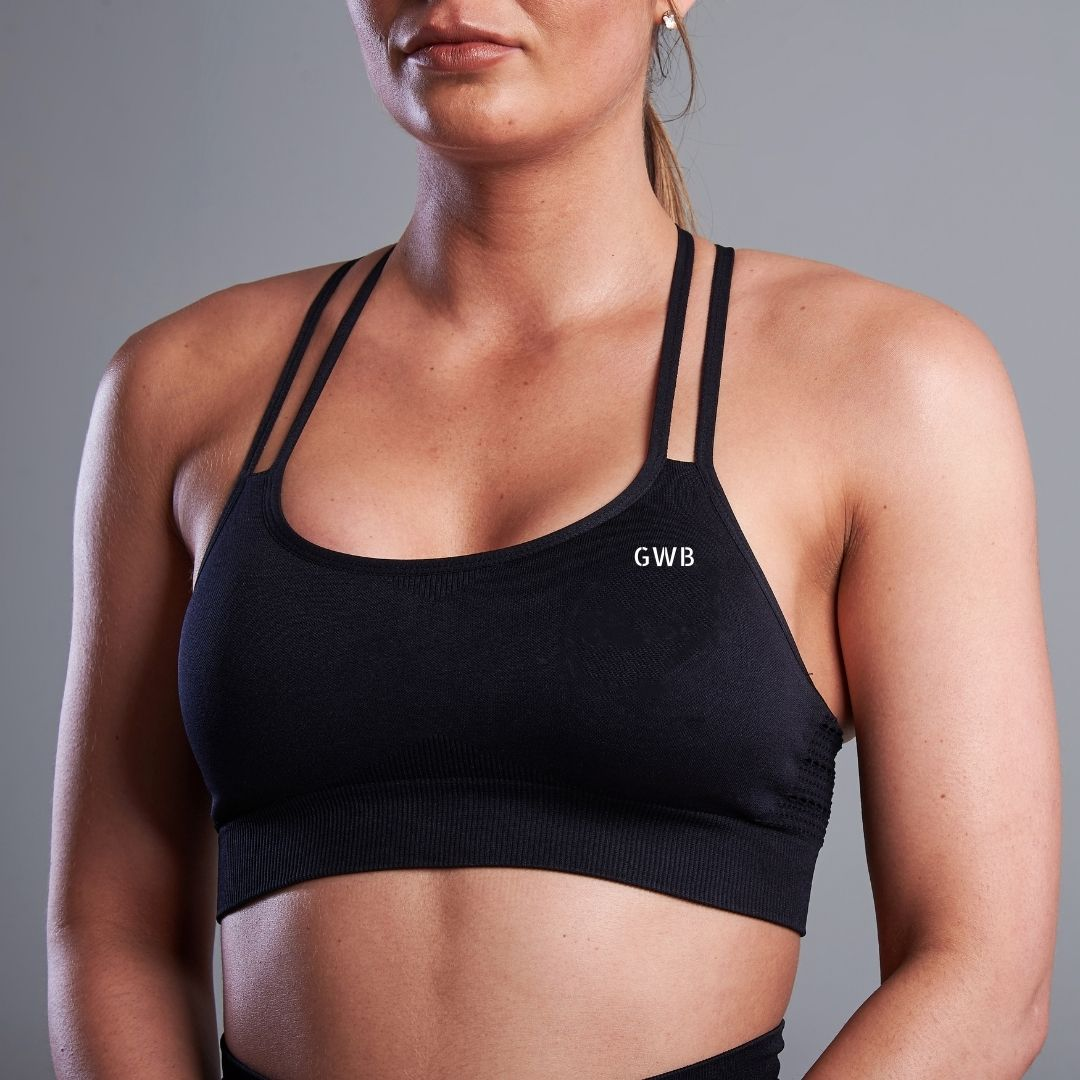 Capella Bra Top in Black