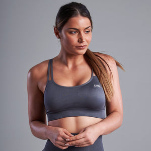 Capella Bra Top in Grey
