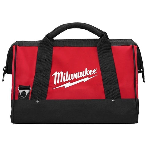 "Milwaukee M12 16"" or 40cm Canvas Contractors Heavy Duty Carry Tool Bag"