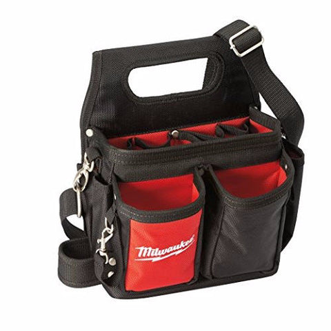 Milwaukee 48228100 Electricians Pouch - Black/Red Top Quality USA Toolpouch