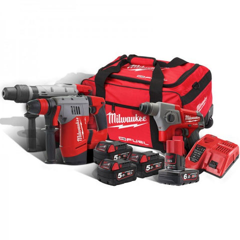 Milwaukee M18FPP3A-564B Thunderbolt Kit - Tools for Superman !!!!!!