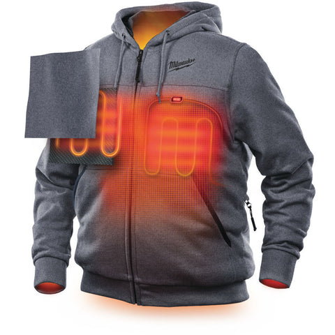 Milwaukee Heated Hoodie in 2 sizes - Working or Walking Keep Warm
