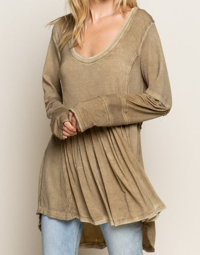 Boho Vibe Long Sleeve Top