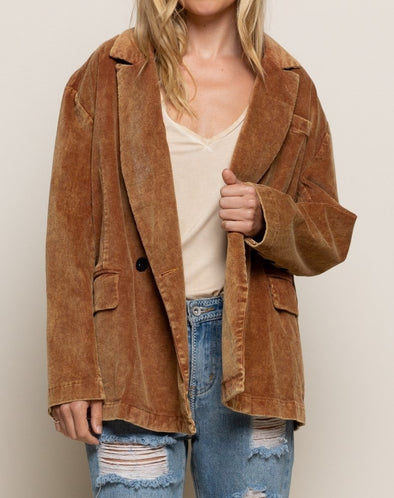 Casual Or Not Corduroy Jacket