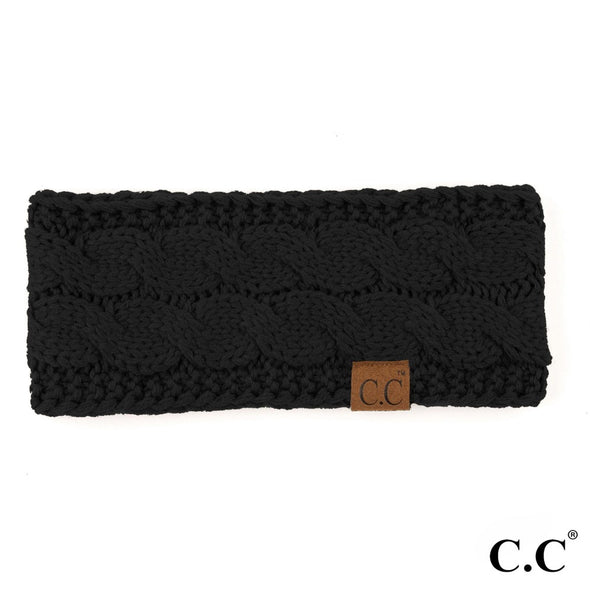 Cable Knit C.C. Headwrap