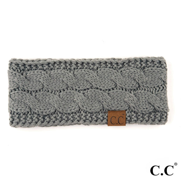 C.C. Cable Knit Headwrap