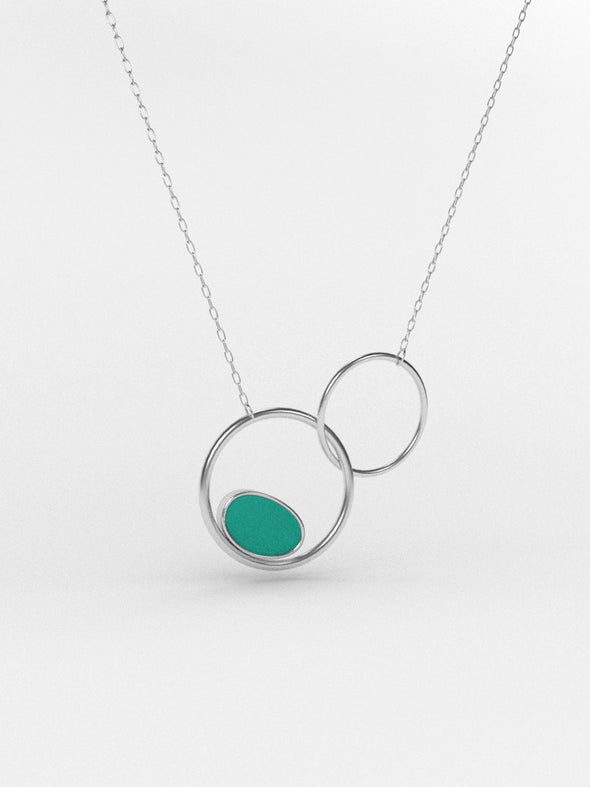 Lunar Sea Glass Necklace