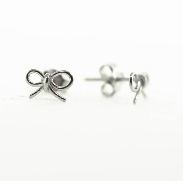 Bow Post Earrings