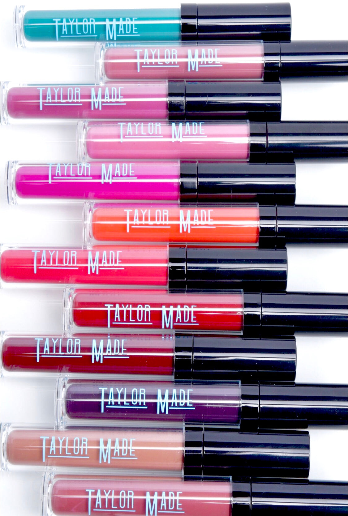 Taylormade cosmetics and Doctor April Spencer presents Liquid matte Taylor Made Cosmetics with lipsticks and lip lacquers that have powerful pigments that are Phalate and Paraben-free by Dr April Spencer