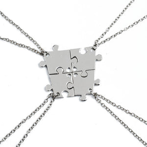 Thoughtful Puzzle Necklace