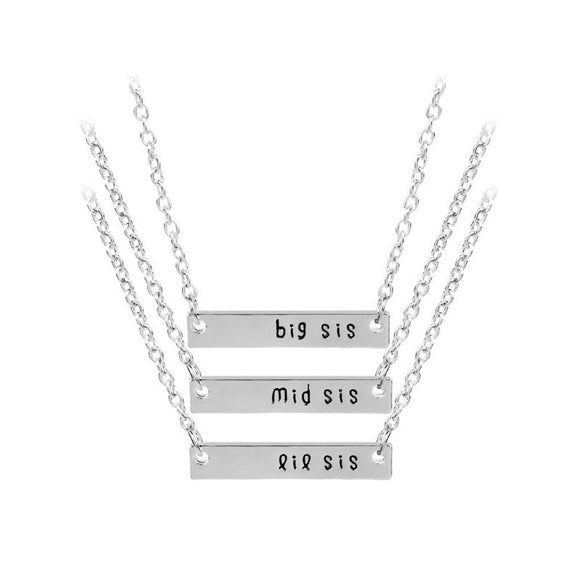 Cute Sister Best Friend Necklace