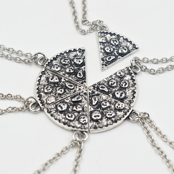 Pizza Best Friend Necklace