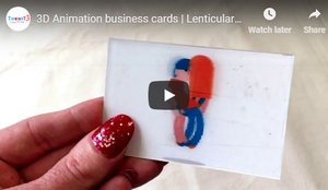 10% OFF || Animated Business Cards || TwenT3
