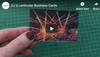 TwenT3 || Lenticular Business Cards | TwenT3