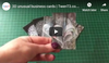 10% OFF Unusual Business Cards || Lenticular
