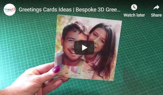 3D Birthday Cards Ideas | Personalised Birthday Cards UK