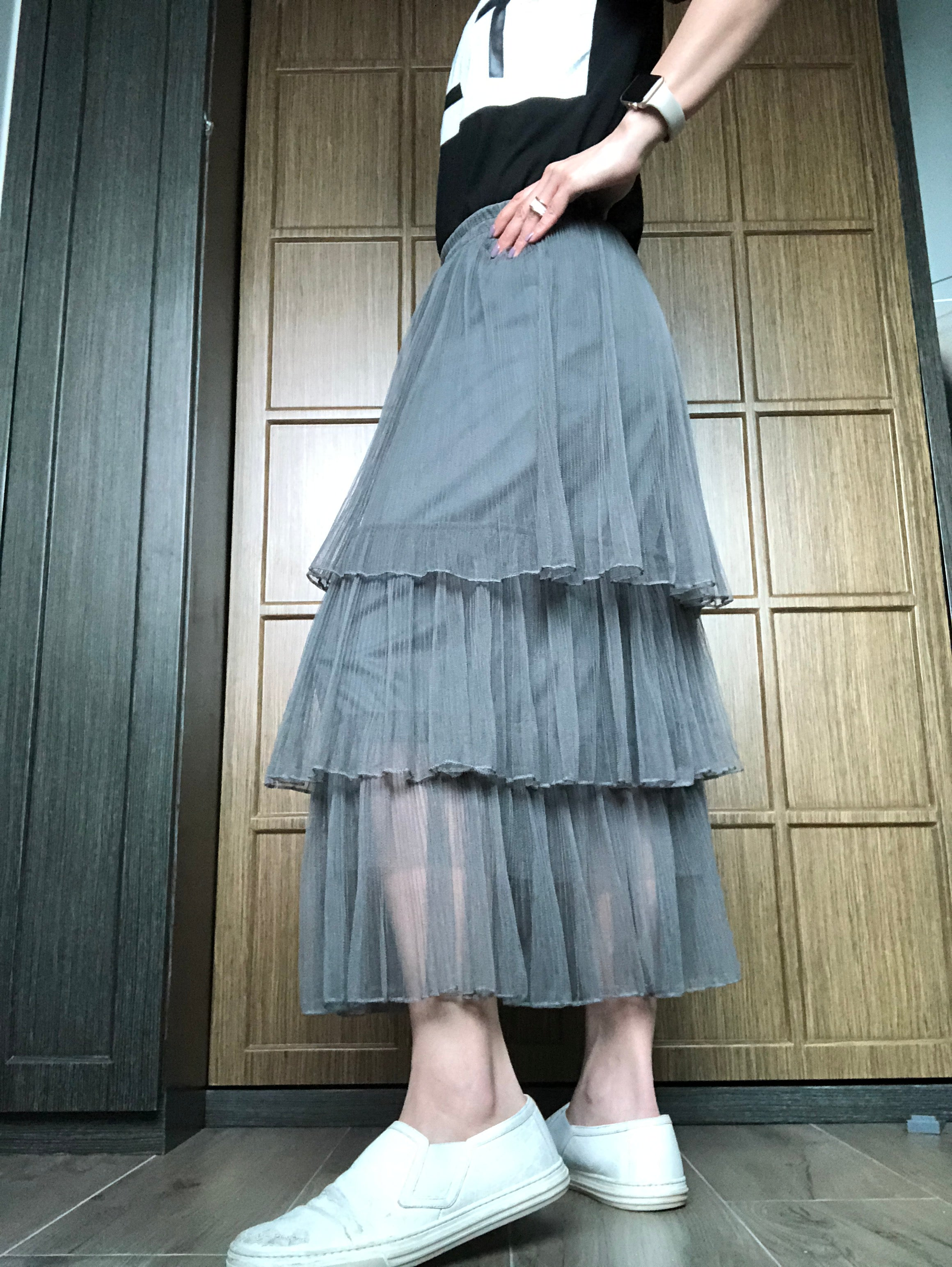 Bella organza layering skirt