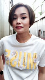 MUSE beadings tee