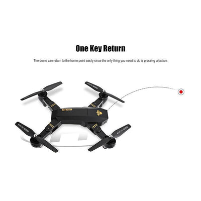 Cool Gadgets Store Drone XS809HW Mini Foldable Selfie Drone