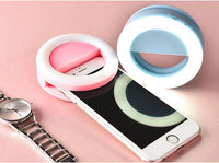 Cool Gadgets Store Smart Phone Gadget Selfie Ring Light For Smart Phone Pink