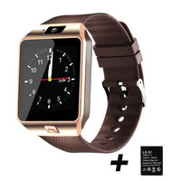 Cool Gadgets Store Smart Watch DZ09 SMART WATCH (WORKS WITH IOS & ANDROID PHONES) Gold