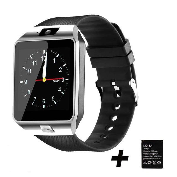 Cool Gadgets Store Smart Watch DZ09 SMART WATCH (WORKS WITH IOS & ANDROID PHONES) Silver